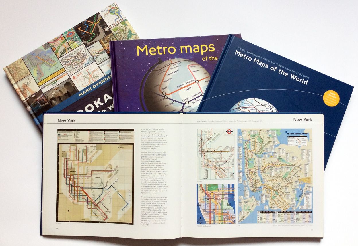 Tube Map Central Showcase Books