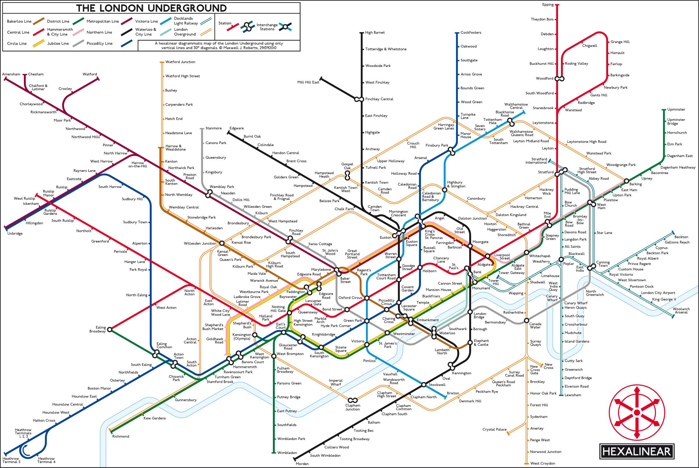 Tube Map Central Showcase Favourites
