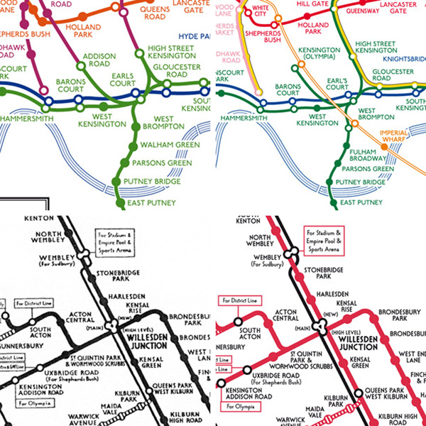 Tube Map Central Speaking on Map Design More Detailed