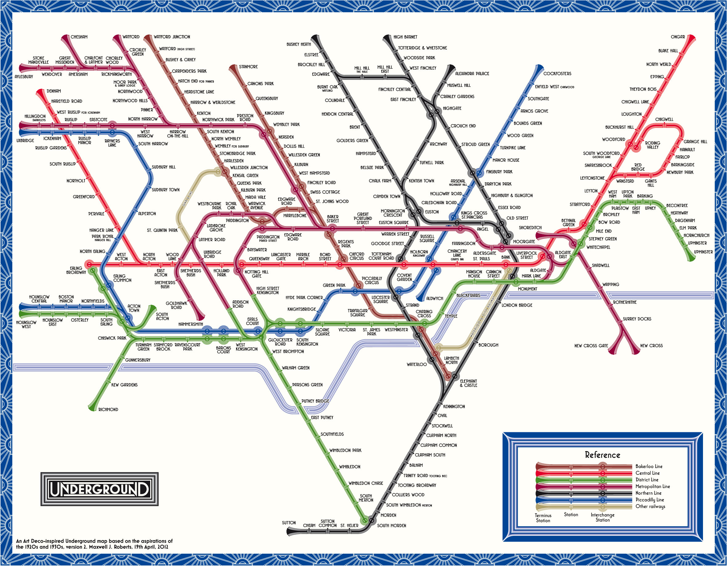 tube map central web shop print on demand posters london