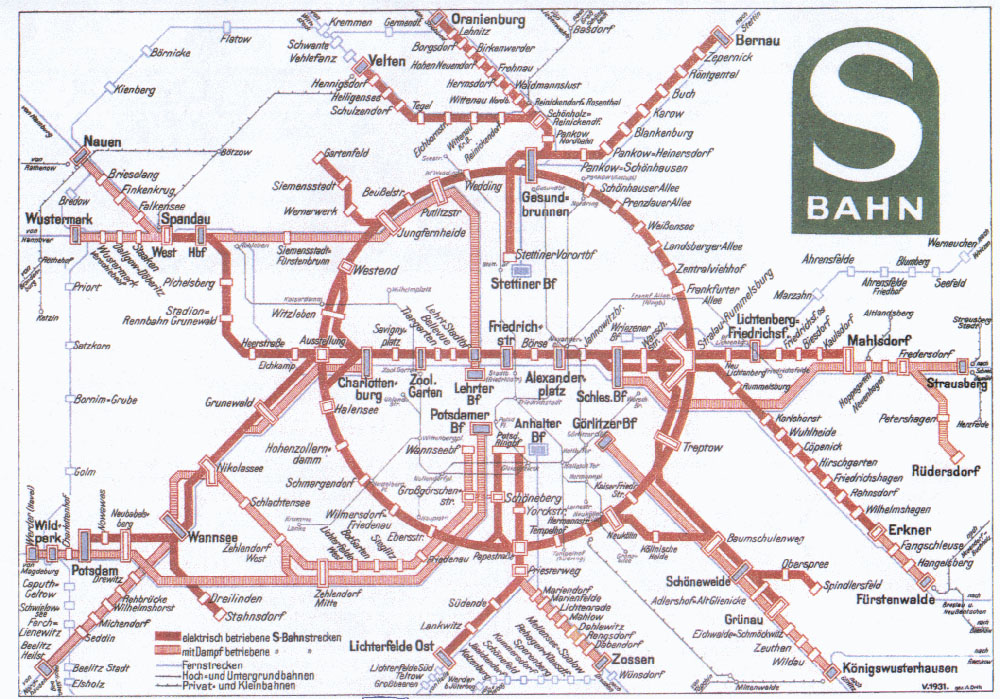Tube Map Central - Berlin us bahn map