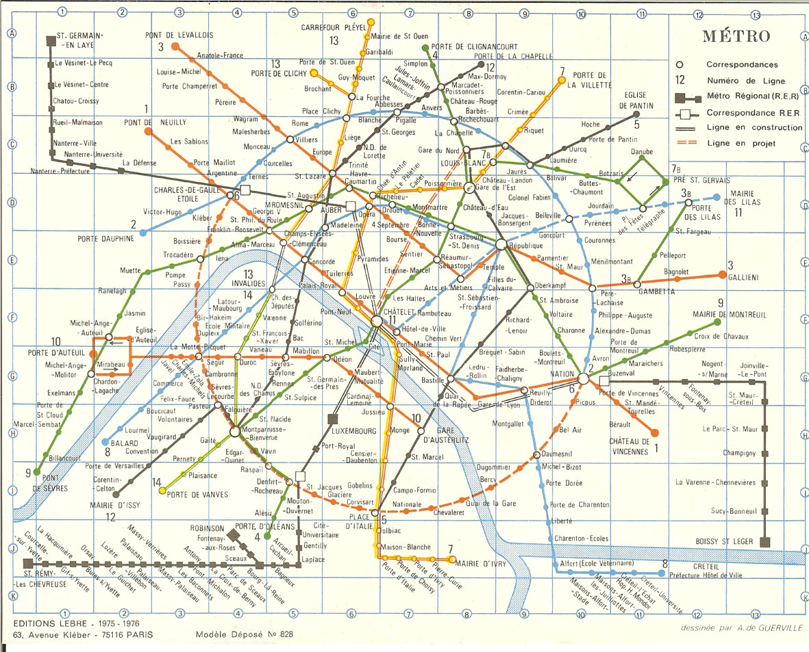 Seoul Subway Map 1989.Tube Map Central